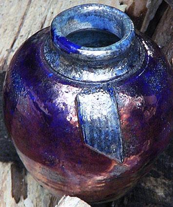 Wattlefield Pottery - Andrea Young - Raku