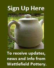 Wattlefield Pottery - Andrea Young - Sign Up Button